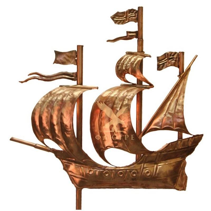 Флюгер Парусник (Корабль) МБКровля 0107001