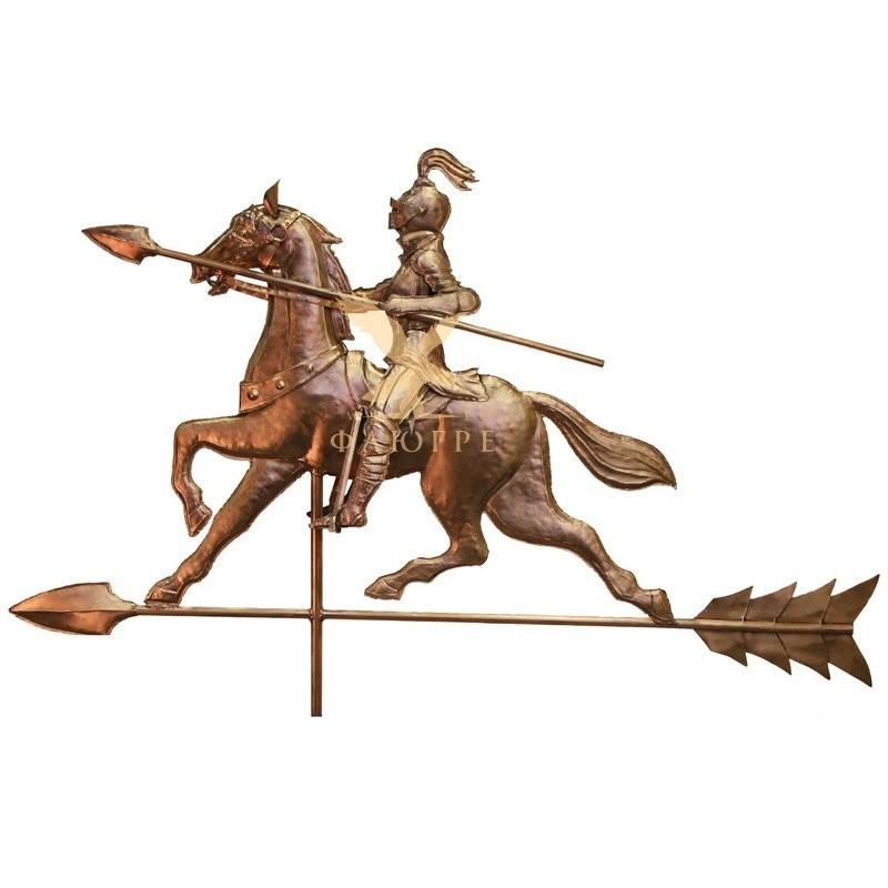 Флюгер Конный рыцарь эксклюзивный МБКровля 0108005