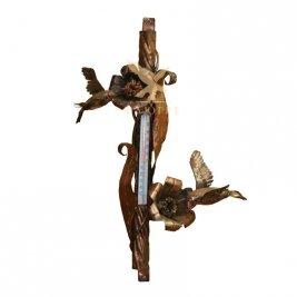 Термометр декоративный (2-е колибри) настенный