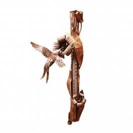 Термометр декоративный (колибри) настенный