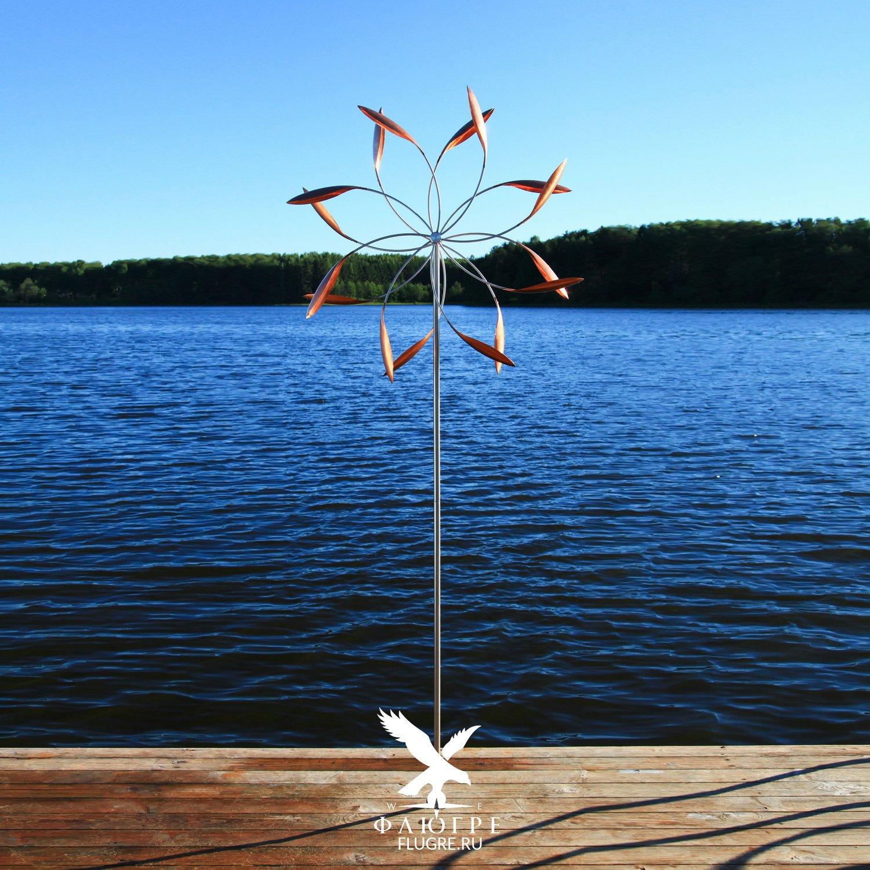 Ветряная скульптура Звезда Perpetuum