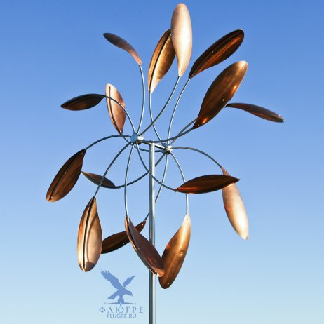 Кинетическая ветряная скульптура Звезда