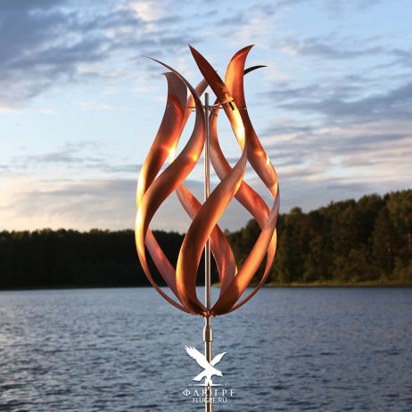 Ветряная кинетическая скульптура Бутон
