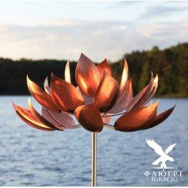 Ветряная скульптура Лотос