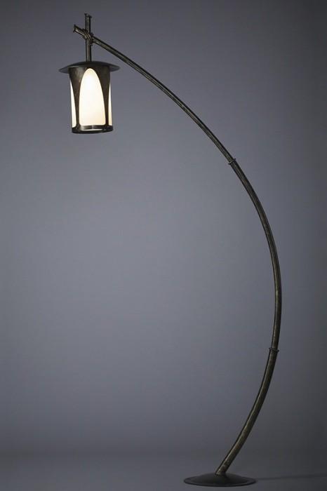 Уличный фонарь Borneo 1.7 м Русские фонари 160-51/bg-02