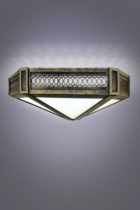 Потолочный светильник 40см Милена Русские фонари 310-92/bg-11
