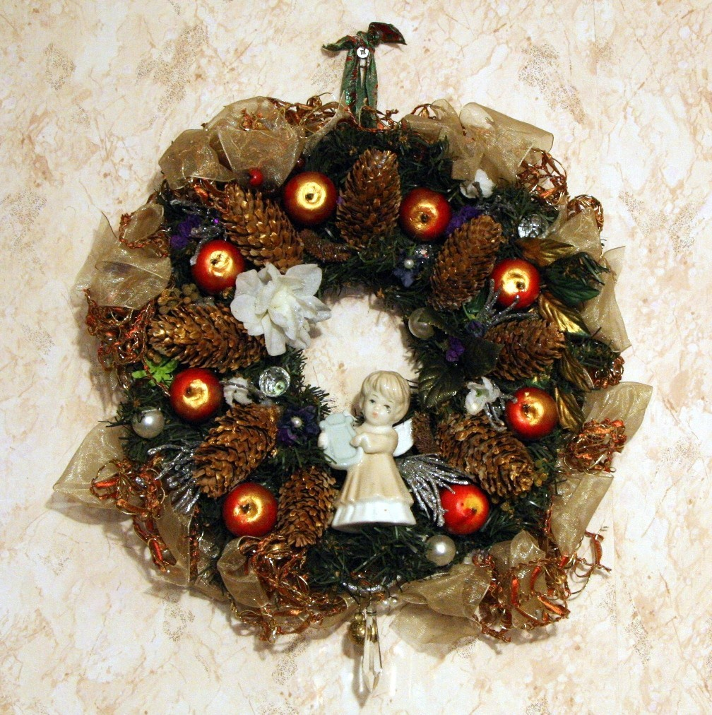 Рождественский венок 7