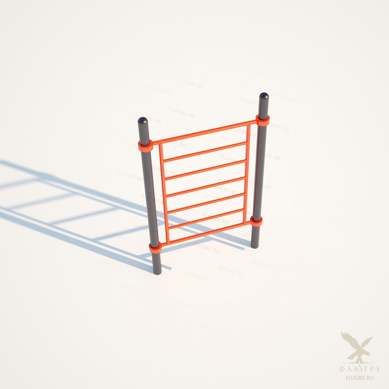 Шведская вертикальная лестница Workoutcity W-017