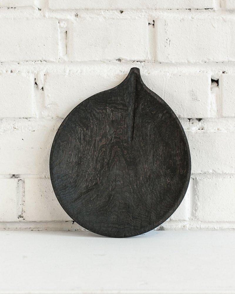 """Блюдце """"Осина"""" - тёмное Fuga 11.06.8.4 - 01"""