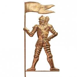 Флюгер Рыцарь с флагом тип 1