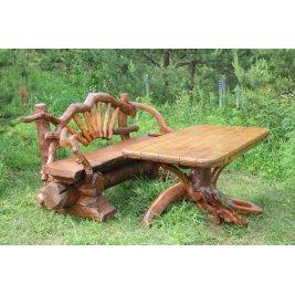 Комплект Стол и две скамейки