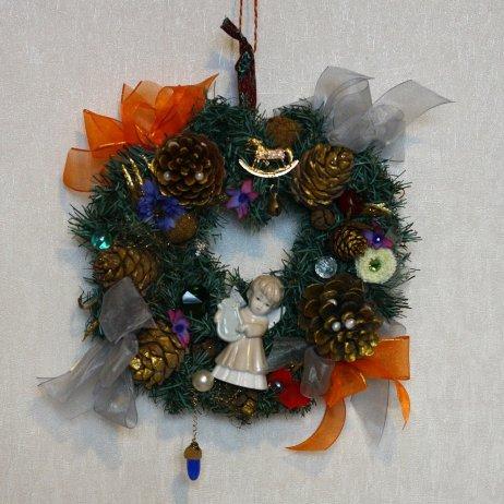 Рождественский венок 14