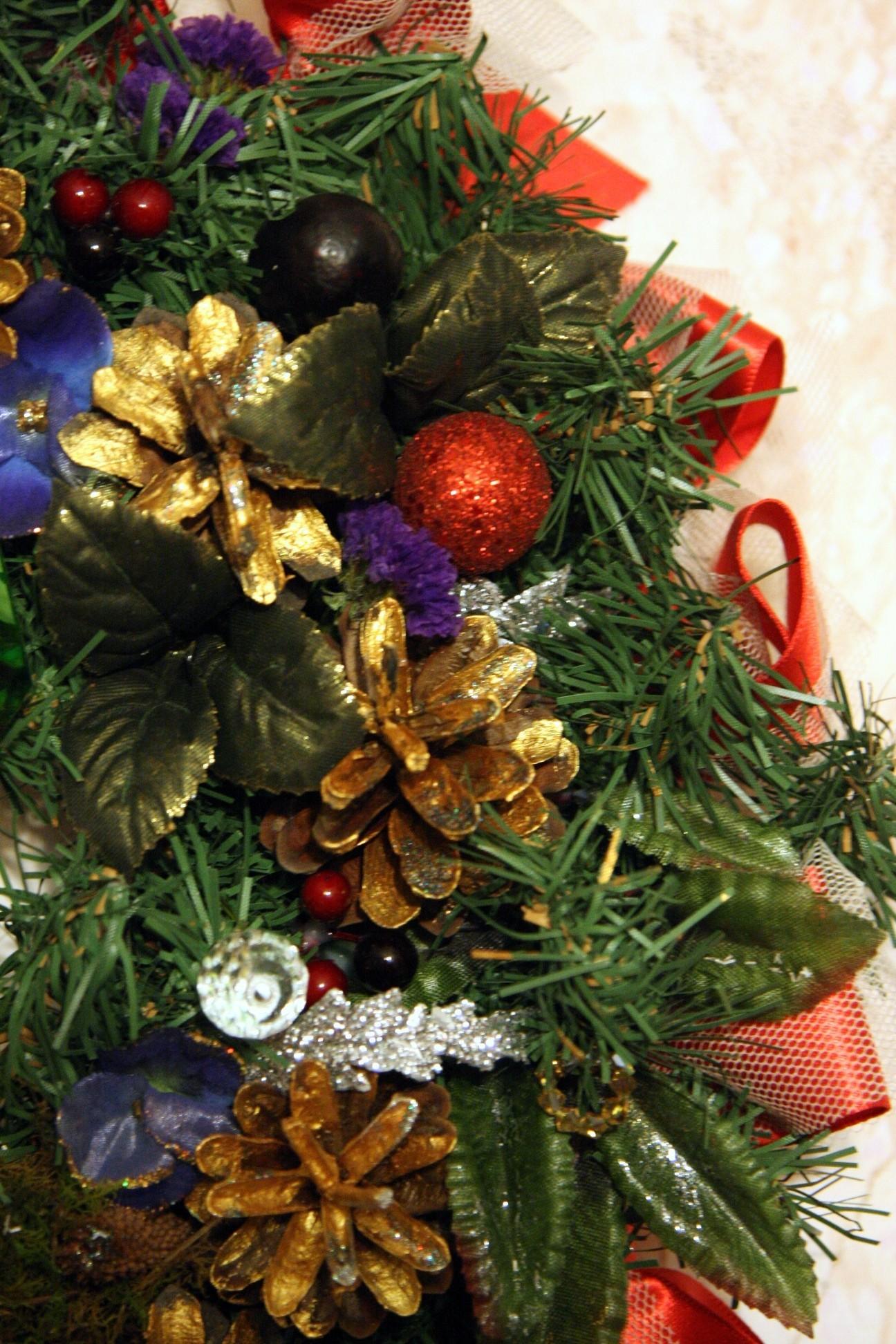 Рождественский венок 6