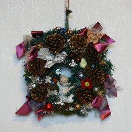 Рождественский венок 11