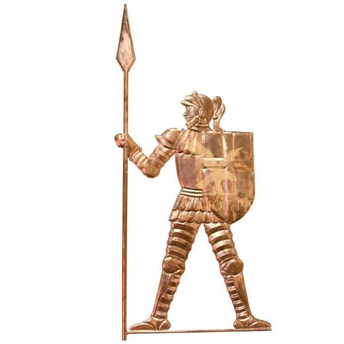 Флюгер Рыцарь с пикой МБКровля 0104002